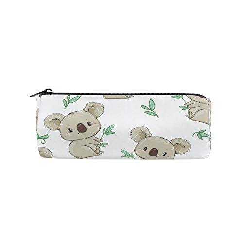 MOYYO Zipper Pen Pencil Case Organizer Cute Koala Animal Student Stationery Pencil Pouch Bag Pencil Box for School Office Student Teen Girls Boys Adults Gift