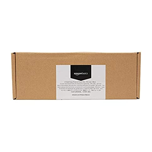 - 310 Srax0eL - AmazonBasics 6-Outlet Surge Protector Power Strip, 6-Foot Long Cord, 790 Joule – Black
