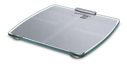 Soehnle Body Balance Slim F5, Plata, Vidrio, Plástico - Báscula de baño