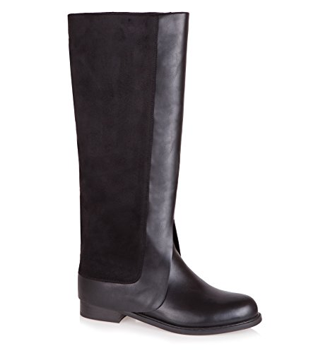 baldi-womens-avonmore-black-pu-textile-boots-casual-85