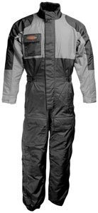 Firstgear Thermo One-Piece Suit - Large/Black/Grey