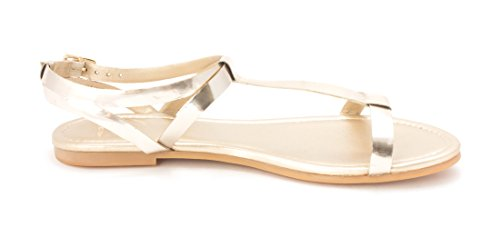 Open Cole Gold Sandals Haan Toe Alainasam Casual Womens Ankle Strap rnOS1xng