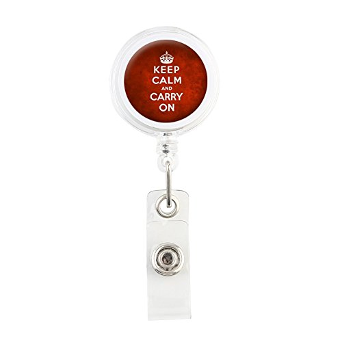 translucent-retractable-badge-holder-reel-key-chain-reel-for-key-cards-and-id-cards-keep-calm-and-ca