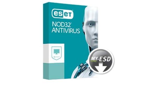 ESET NOD32 Antivirus | 1 Dispositivo | 3 Años | ESD | Descargar | Email: Amazon.es: Software