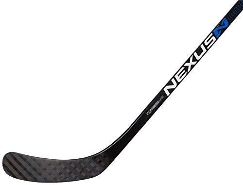 Bauer Nexus N6000 Senior Grip Hockey Stick, Left - 87 Flex - P92 Lie 6