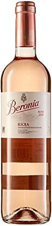 Beronia Rosado – Vino D.O.Ca. Rioja – 6 botellas de 750 ml – Total: 4500 ml