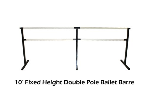 The Beam Store 10ft Double Pole Ballet Barre