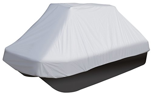 Leader Accessories Silver Molded Pond Boat Cover Fits 8'-10'L Pond or Bass Boats