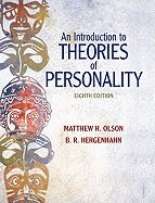 Intro to Theories of Personality (8th, 11) by Olson, Matthew H - Hergenhahn, BR H [Hardcover (2010)]