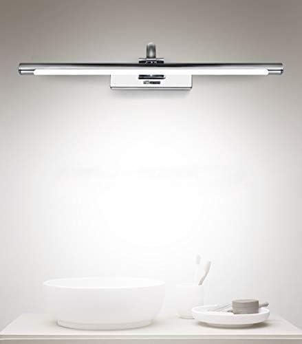 -badezimmerlampe LED-Spiegel-Frontleuchte Spiegelschrank Licht Badezimmer WC-Wandleuchte Moderne einfache Lampen-Beleuchtung Badleuchte (Color : White light)