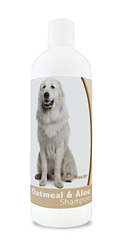 Healthy Breeds Dog Shampoo for Dry Itchy Skin for Great Pyrenees - Over 200 Breeds - 16 oz - Mild & Gentle for Sensitive Skin - Hypoallergenic Formula & pH Balanced