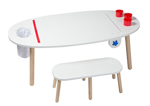 ALEX Toys Artist Studio Super Art Table White by ALEX Toys