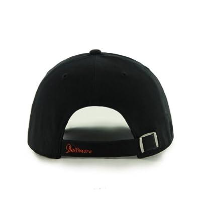 MLB Baltimore Orioles Sparkle Adjustable Hat, Womens, Black