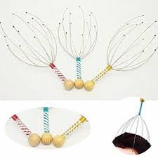 Scalp Massagers – 3 Pack | Head Massagers Provides Scalp Massage and Supports Relaxation | Colors Vary | Seeking Health