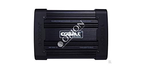 Orion CB1500.1D Cobalt Series Monoblock Class D 1-Ohm Amplifier (Subwoofer Car Audio Orion)