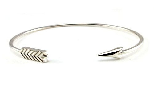 lr product silver q williamson lucy brown hand arrow bracelet
