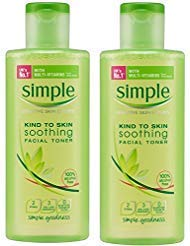 Simple Kind to Skin Soothing Facial Toner 200 ml (Pack of 2) by Simple