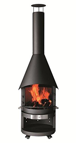 Ceramic Infrared Broiler - Northfire BBQ Fireplace - Steel