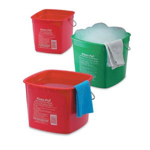 Sanitizing Pail Red (Sanitizing Pail Red 3 qt)