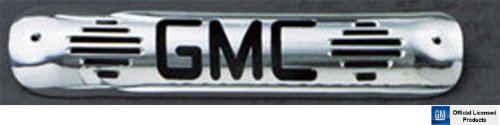 Polished Billet Third Brake Light - All Sales 94011P Polished Billet Aluminum Third Brake Light Cover - GMC Logo
