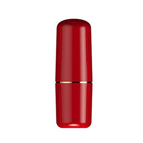 (HAOCHIDIAN Ionic Facial Steamer Lipstick Hydrating Sprayer Nano Handheld Facial Mister Portable Humidifier USB Rechargeable Beauty Instrument for Skin Care Makeup,Red )