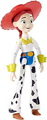 Disney Pixar Toy Story 4 Jessie Figure, 8.8 in / 22.35 cm Tall, Posable Cowgirl Character Figure for Kids 3 Ye