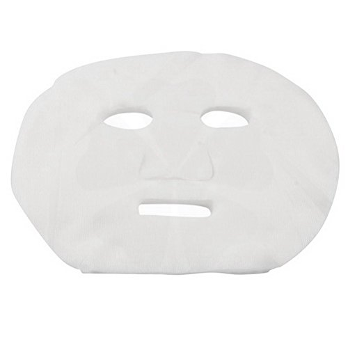 40 Pcs White DIY Makeup Skin Care Enlarged Cotton Facial Masks Sheets for Ladies by ()