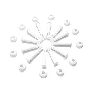 12 Pezzi Perni di Giunzione per Piscina, Joint Pins, Piscina Rotonda Con Struttura in Metallo, Adatto per La Maggior… 310 na%2BYQML. SS300