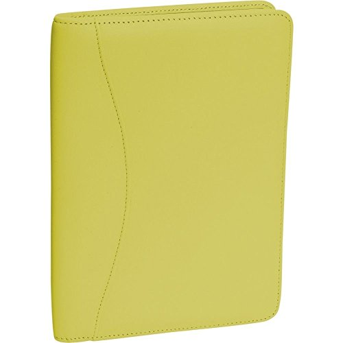 Green Padfolio (Royce Leather Jr. Writing Padfolio - Key Lime Green)
