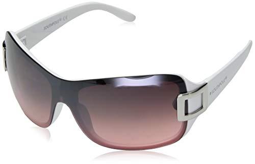 - Southpole Women's 1019sp Whpk Non-Polarized Iridium Shield Sunglasses, White Pink, 170 mm