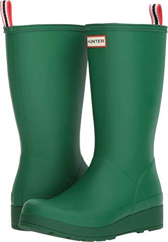 (Hunter Women's Original Play Boot Tall Rain Boots Hyper Green 7 M US M)