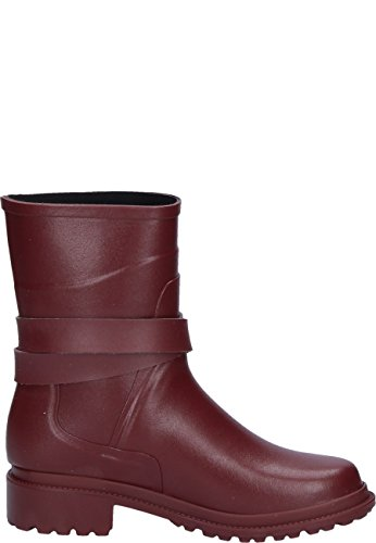 Womens Rouge Macadames Boots Rubber Mid Aigle 1B4Zqwzq