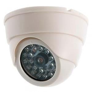 Dummy Fake Imitation Dome Home CCTV Security Surveillance Camera LED