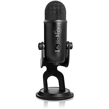 Blue Yeti USB Microphone - Blackout