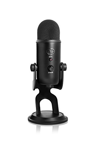 (Blue Yeti USB Microphone - Blackout Edition)