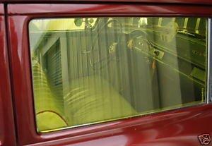Motown Automotive Design Gasser Window Tint Gold Vintage Look Car Truck Nostalgia Drag Strip Hot Rod Rat Rod Willys A/FX B/G S/S SS/AA Moon Sun