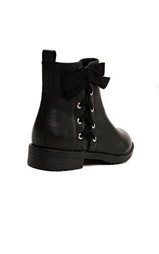 Détail De Cheville 4 Women's La Teegan Size In Ikrush Black Bottes Patins CITxq