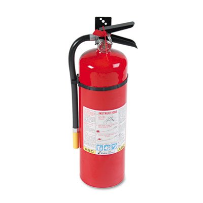 ProLine Pro 10MP Fire Extinguisher, 4 A, 60 B:C, 195psi, 19.52h x 5.21 dia, 10lb, Sold as 2 Each by Kidde