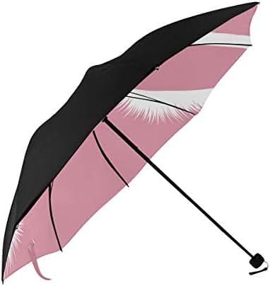 Umbrella White Lashes Woman Eyes Long Eyelashes Underside Printing Compact Travel Sun Umbrella Parasol Anti Uv Foldable Umbrellas With 95% Uv Protection For Women Men Lady Girl