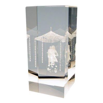 Jewish Wedding Canopy - 3D Crystal Jewish Wedding Canopy Chuppah Gift