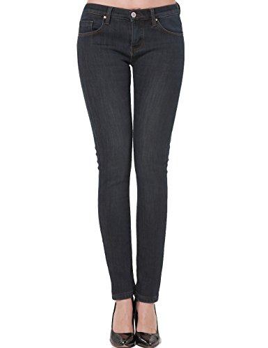 Camii Mia Women's Thermal Slim Fit Fleece Lined Jeans
