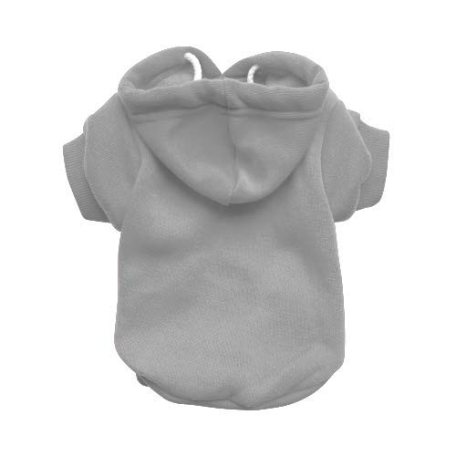 X -Large RichPaw All'ingrosso Grey Dog Hoodie x 18, Trade Dog Hoody, Dog Jumper, Trade Grey Dog Sweatshirt (X -Large)