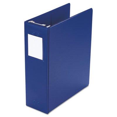"Wilson Jones 36549BL Large Capacity Hanging Post Binder, 3"" Cap, Blue"