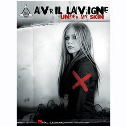 Hal Leonard Avril Lavigne Under My Skin Guitar Tab (Avril Lavigne Guitar Tab)