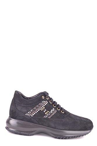 Hogan Sneakers Donna MCBI148307O Camoscio Nero