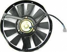 UPC 723651731160, 86-87 VOLVO 240 SERIES A/C CONDENSER FAN SHROUD ASSEMBLY, FAN, MOTOR, SHROUD; mounted on grille side (1986 86 1987 87) V190901 PERF