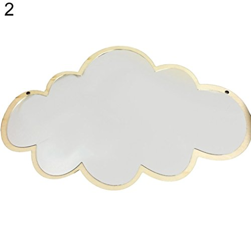 Cartoon Creative Nordic Style Mirror for Baby Room Decoration Newborn Photo Prop (2#)