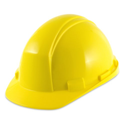 North A89R080000 Hard Hat with Rain Trough Slottd, Navy, 9.4