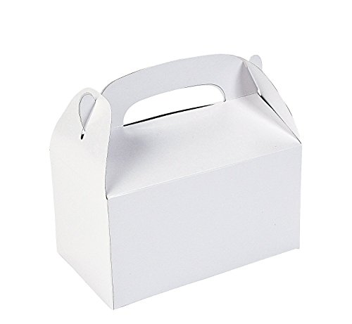 Fun Express Treat Boxes , White