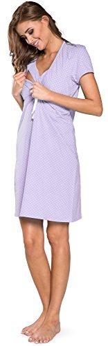 Per Joy Allattamento Camicie 0114 If Lavanda Notte Italian Fashion Da 6y0SqUXw